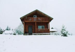 sodyba žiemą